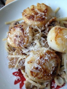 Linguine Scallops